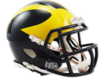 Michigan Wolverines Speed Mini Helmet