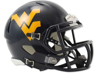 West Virginia Mountaineers Speed Mini Helmet