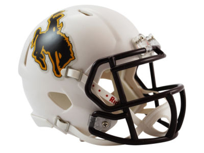 Wyoming Cowboys Speed Mini Helmet