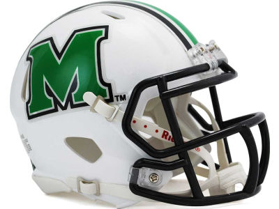 Marshall Thundering Herd Speed Mini Helmet