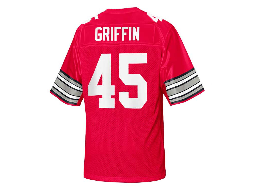 reputable site 412d0 d6ac2 amazon archie griffin white youth ohio state buckeyes nike ...