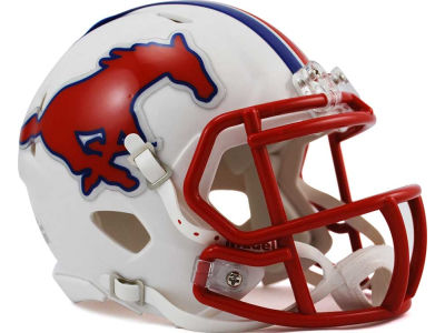 Southern Methodist Mustangs Speed Mini Helmet