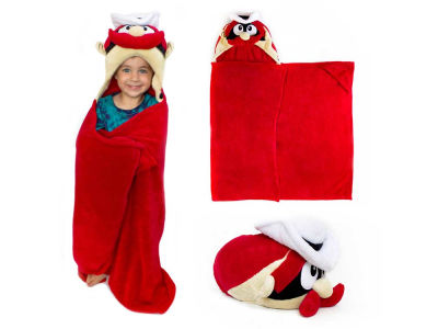 Texas Tech Red Raiders Mascot Hoodie Blanket