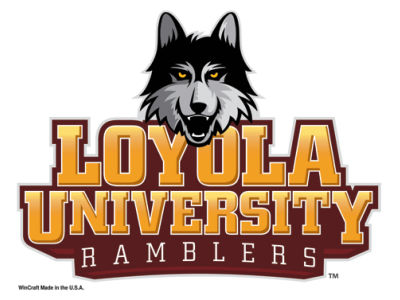 Loyola Ramblers 5x6 Ultra Decal