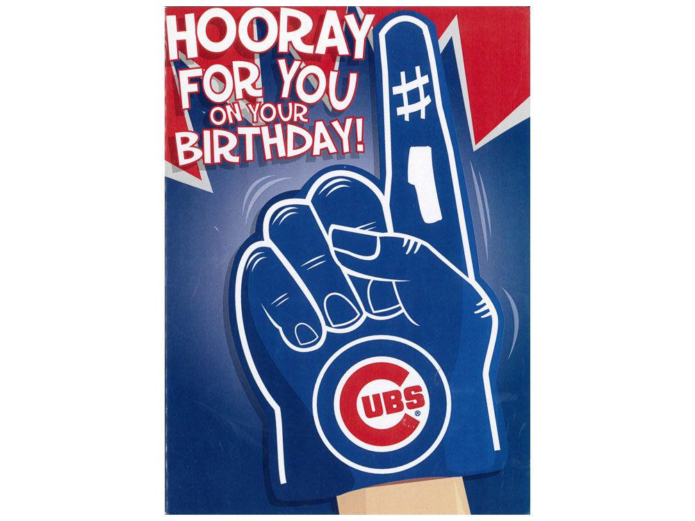 Chicago Cubs Mlb Birthday Card Lids