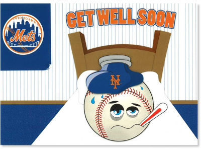 New York Mets MLB Get Well Card