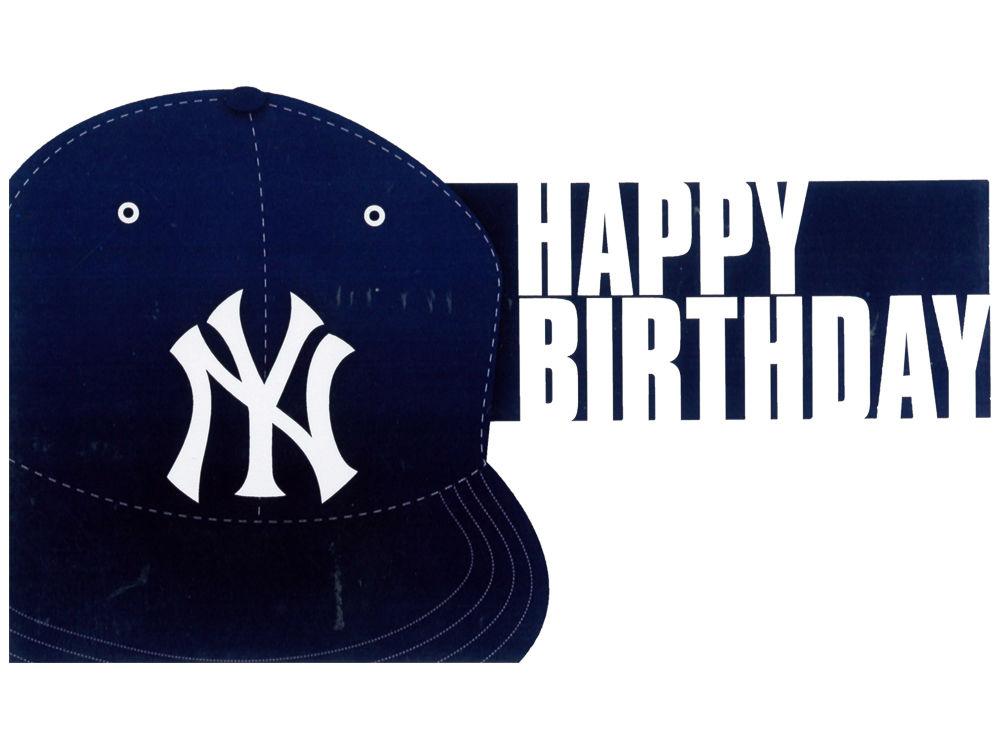 New York Yankees MLB Birthday Card – New York Birthday Card