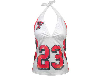 Texas Tech Red Raiders NCAA Womens Team Playa Halter Jersey