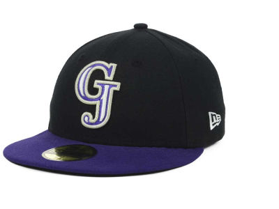 Grand Junction Rockies New Era MiLB AC 59FIFTY Cap