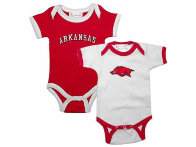 Arkansas Razorbacks NCAA Newborn Creeper Set