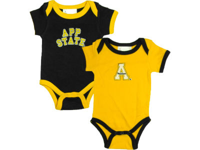 Appalachian State Mountaineers NCAA Newborn Creeper Set