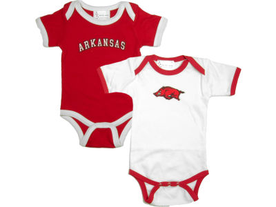Arkansas Razorbacks NCAA Infant Creeper Set