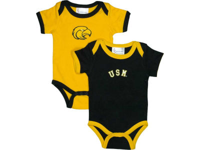 Southern Mississippi Golden Eagles NCAA Infant Creeper Set