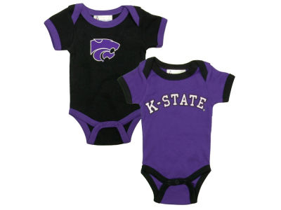 Kansas State Wildcats NCAA Infant Creeper Set