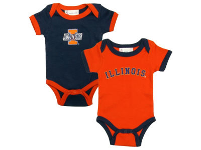 Illinois Fighting Illini NCAA Infant Creeper Set