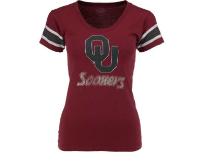 Oklahoma Sooners '47 NCAA Womens Off Campus Scoop T-Shirt
