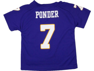 Minnesota Vikings Christian Ponder NFL Toddler Fashion Performance T-Shirt
