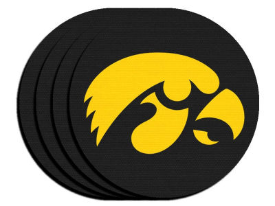 Iowa Hawkeyes 4-pack Neoprene Coaster Set