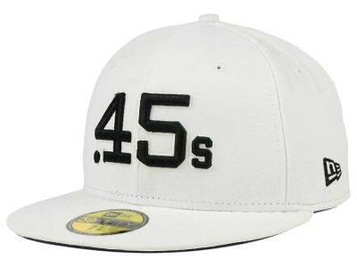 Houston Colt 45s New Era MLB White And Black 59FIFTY Cap