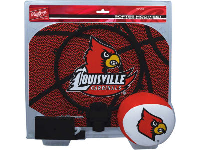 Louisville Cardinals Slam Dunk Hoop Set