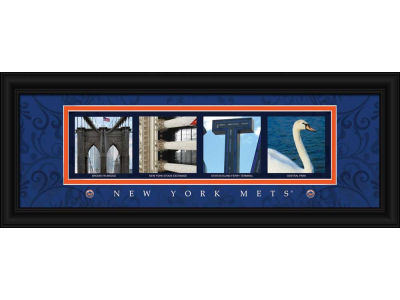 New York Mets NFL Letter Art