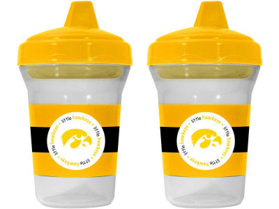 Iowa Hawkeyes 2-pack Sippy Cup Set