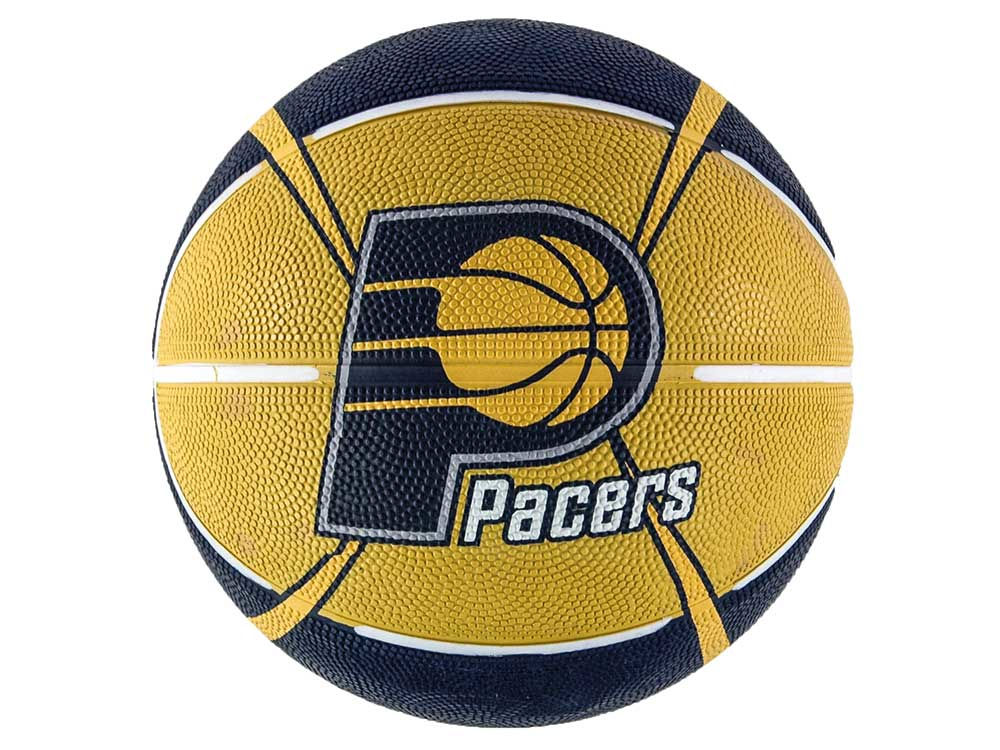 Indiana pacers logo ball size 3 unboxed lids indiana pacers logo ball size 3 unboxed voltagebd Gallery
