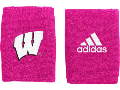 Wisconsin Badgers Adidas BCA 4 Inch Wristbands 2012