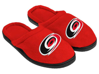 Carolina Hurricanes Cupped Sole Slippers