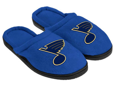 St. Louis Blues Cupped Sole Slippers