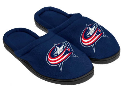Columbus Blue Jackets Cupped Sole Slippers
