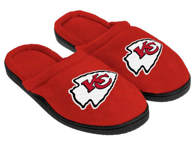 Kansas City Chiefs Cupped Sole Slippers