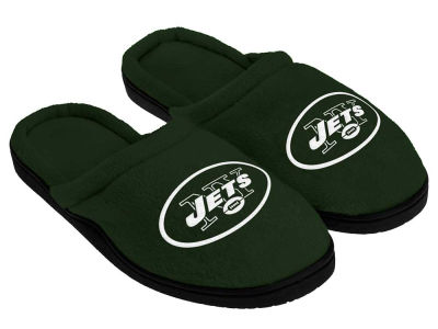 New York Jets Cupped Sole Slippers