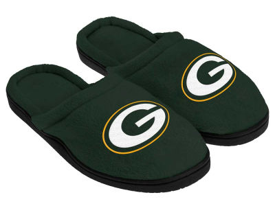 Green Bay Packers Cupped Sole Slippers