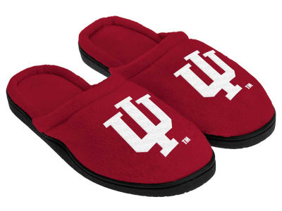 Indiana Hoosiers Cupped Sole Slippers
