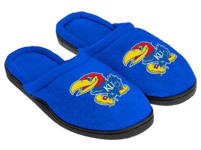 Kansas Jayhawks Cupped Sole Slippers
