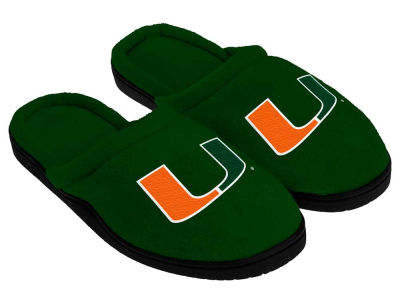 Miami Hurricanes Cupped Sole Slippers