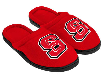 North Carolina State Wolfpack Cupped Sole Slippers