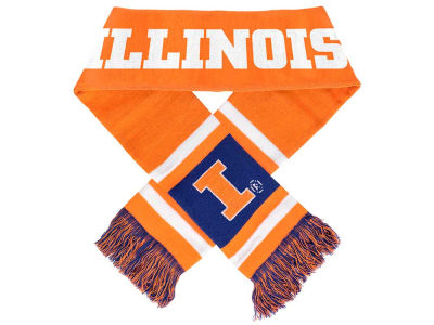 Illinois Fighting Illini Acrylic Team Stripe Scarf