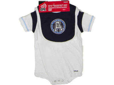 Toronto Argonauts Reebok CFL Infant Creeper Bib Bootie Set