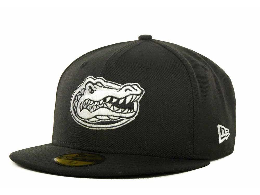 Florida Gators New Era NCAA 2 Tone Graphite and Team Color 59FIFTY Cap  981ccd48e3e3