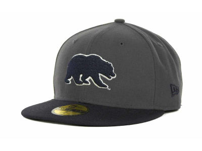 California Golden Bears New Era NCAA 2 Tone Graphite and Team Color 59FIFTY Cap