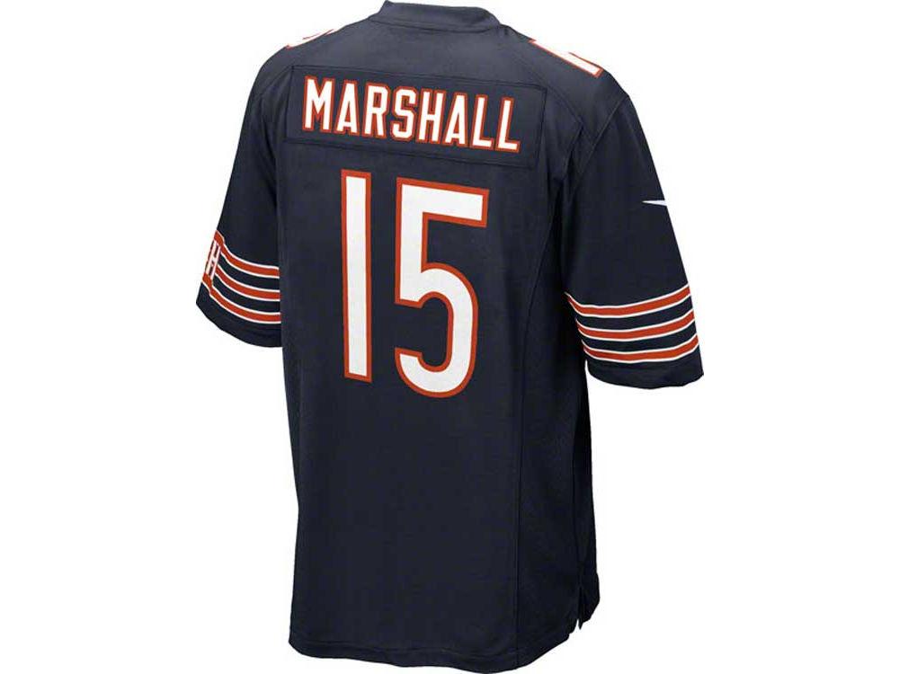 9f5d0606 Chicago Bears Brandon Marshall Nike NFL Men's Game Jersey