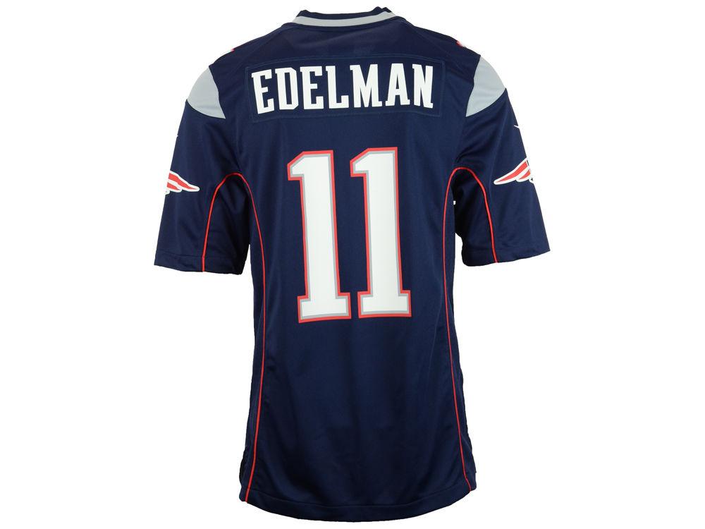 New England Patriots Julian Edelman Nike NFL Men s Game Jersey ... fd5e7858a