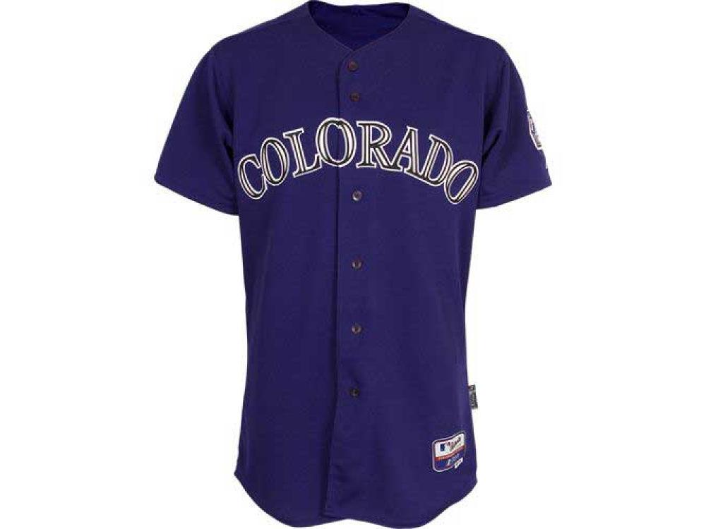 new arrival 7ecdb d39ea colorado rockies blank purple kids jersey