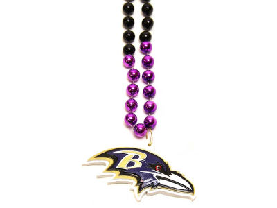 Baltimore Ravens Team Logo Beads-Rico