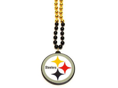 Pittsburgh Steelers Team Logo Beads-Rico