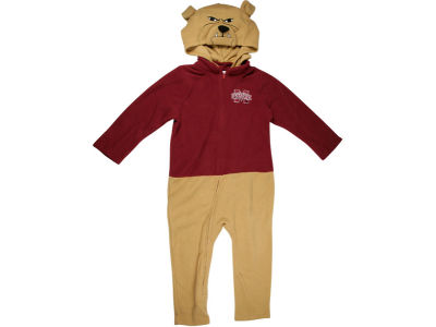 Mississippi State Bulldogs NCAA Newborn Mascot Fleece Outfit