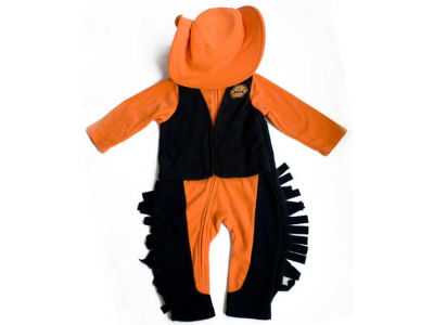 Oklahoma State Cowboys NCAA Infant Mascot Fleece Outfit