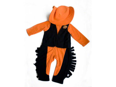 Oklahoma State Cowboys NCAA Toddler Mascot Fleece Outfit